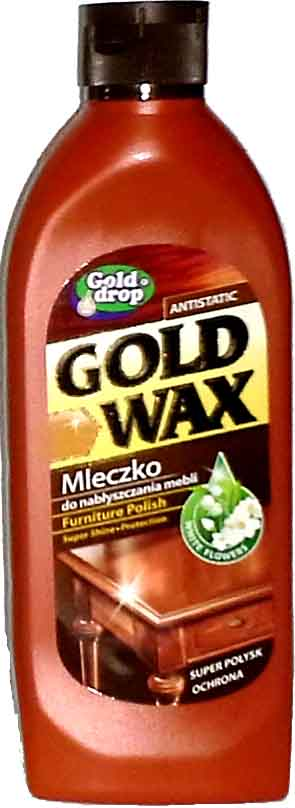 Emulsja do mebli GOLD WAX 250ml